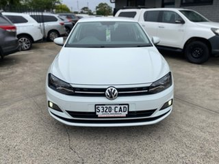 2019 Volkswagen Polo AW MY19 70TSI Trendline White 5 Speed Manual Hatchback.