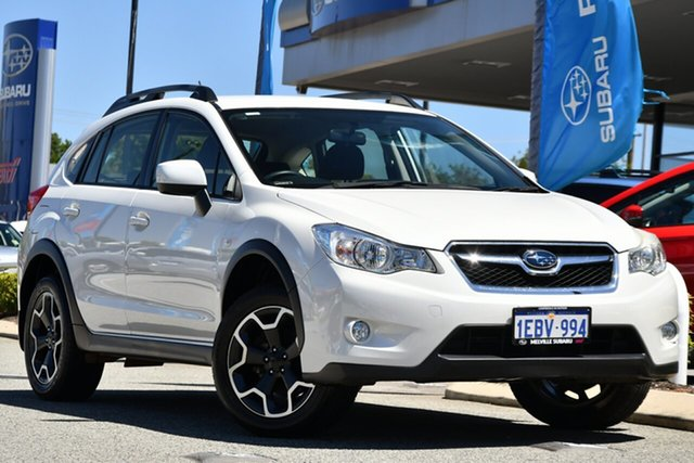 Used Subaru XV G4X MY14 2.0i AWD Melville, 2013 Subaru XV G4X MY14 2.0i AWD Satin White Pearl 6 Speed Manual Wagon