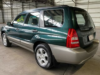 2003 Subaru Forester 79V MY03 XS AWD Green 4 Speed Automatic Wagon