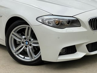 2012 BMW 5 Series F10 MY0911 520i Steptronic White 8 Speed Sports Automatic Sedan