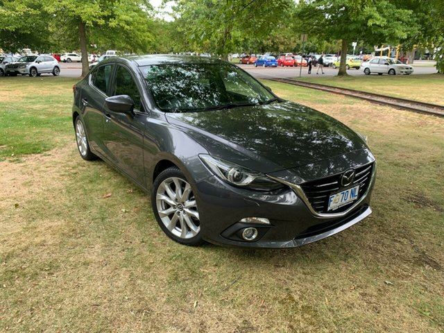 Used Mazda 3 BM5238 SP25 SKYACTIV-Drive Astina Launceston, 2015 Mazda 3 BM5238 SP25 SKYACTIV-Drive Astina Meteor Grey 6 Speed Sports Automatic Sedan