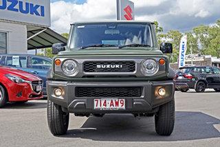 2020 Suzuki Jimny JB74 GLX Green 5 Speed Manual Hardtop.