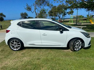 2015 Renault Clio IV B98 R.S. 200 EDC Sport White 6 Speed Sports Automatic Dual Clutch Hatchback.