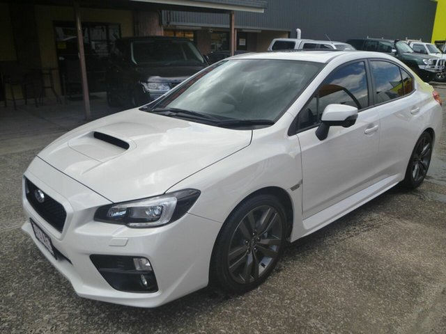 Used Subaru WRX V1 MY17 Premium Lineartronic AWD Morayfield, 2017 Subaru WRX V1 MY17 Premium Lineartronic AWD White 8 Speed Constant Variable Sedan