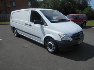 2013 Mercedes-Benz Vito MY11 113CDI LWB White 5 Speed Automatic Van