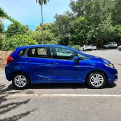 2017 Honda Jazz GF MY17 VTi Blue 5 Speed Manual Hatchback.