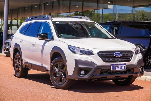 Demo Subaru Outback AWD Sport Gosnells, 2021 Subaru Outback 6GEN AWD Sport White Constant Variable SUV