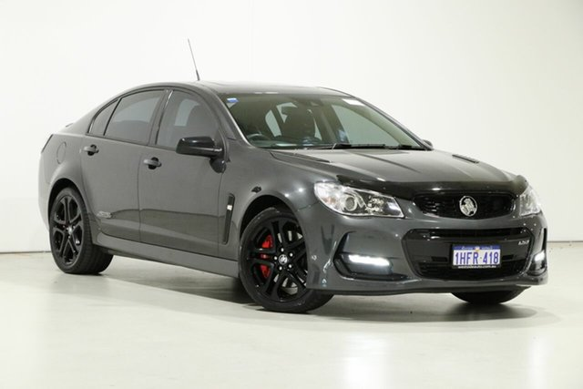 Used Holden Commodore VF II MY17 SS-V Redline Bentley, 2017 Holden Commodore VF II MY17 SS-V Redline Son of a Gun Grey 6 Speed Automatic Sedan