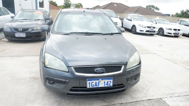 Used Ford Focus LS Zetec St James, 2007 Ford Focus LS Zetec Grey 4 Speed Sports Automatic Hatchback