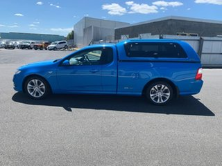 2011 Ford Falcon FG XR6 Ute Super Cab Blue 6 Speed Sports Automatic Utility