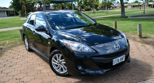 Used Mazda 3 BL10F2 MY13 Maxx Activematic Sport Ingle Farm, 2013 Mazda 3 BL10F2 MY13 Maxx Activematic Sport Black 5 Speed Sports Automatic Hatchback