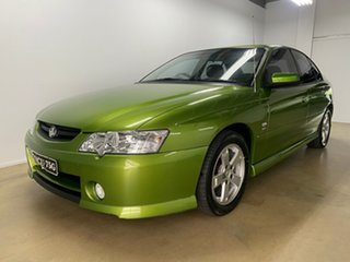 2003 Holden Commodore VY S Green 4 Speed Automatic Sedan