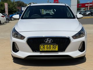 2018 Hyundai i30 Go White Sports Automatic Hatchback