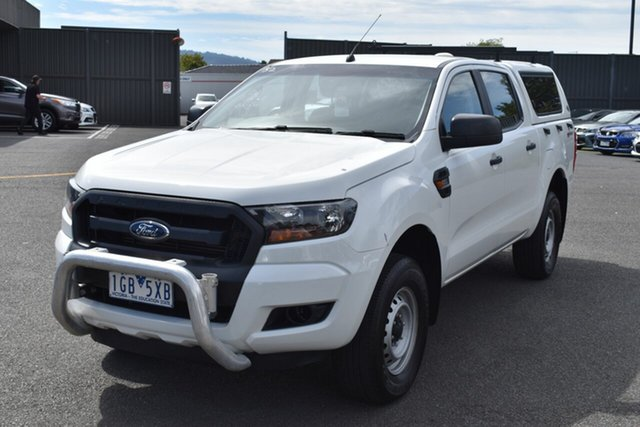 Used Ford Ranger PX MkII XL Hi-Rider Wantirna South, 2015 Ford Ranger PX MkII XL Hi-Rider White 6 Speed Sports Automatic Utility