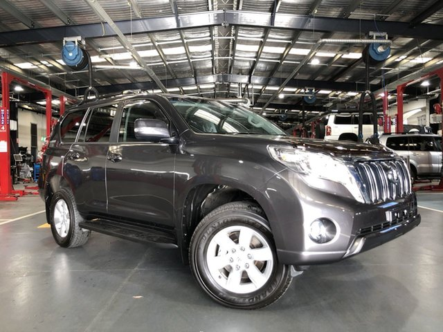Pre-Owned Toyota Landcruiser Prado GDJ150R GXL Oakleigh, 2017 Toyota Landcruiser Prado GDJ150R GXL Grey 6 Speed Sports Automatic Wagon
