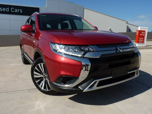 Pre-Owned Mitsubishi Outlander ZL MY20 ES 2WD Blacktown, 2019 Mitsubishi Outlander ZL MY20 ES 2WD Red 6 Speed Constant Variable Wagon