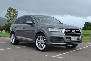 2015 Audi Q7 4M MY16 TDI Tiptronic Quattro Grey 8 Speed Sports Automatic Wagon.