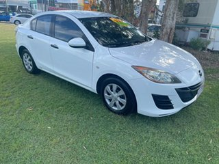 2009 Mazda 3 BK10F2 MY08 Neo Sport White 5 Speed Manual Hatchback