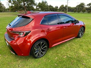 2019 Toyota Corolla ZWE211R ZR E-CVT Hybrid Red 10 Speed Constant Variable Hatchback Hybrid