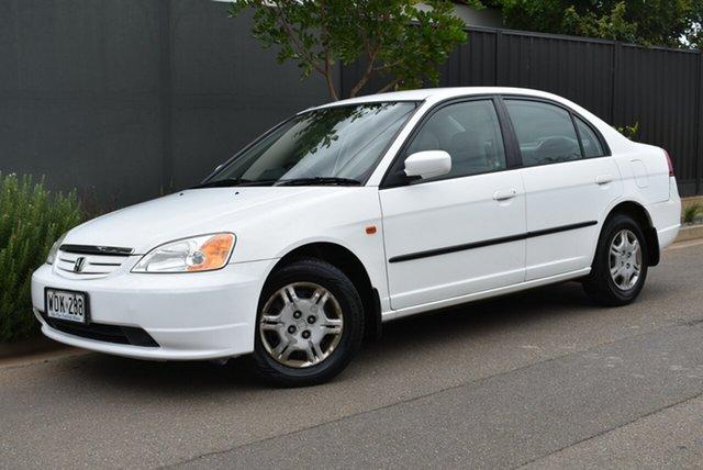 Used Honda Civic 7th Gen GLi Brighton, 2001 Honda Civic 7th Gen GLi White 4 Speed Automatic Sedan