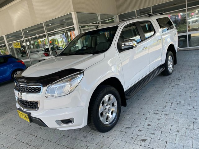 Used Holden Colorado LTZ Taree, 2015 Holden Colorado LTZ White Manual Dual Cab Utility