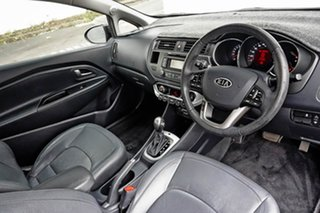 2012 Kia Rio UB MY12 SLS Deep Blue 6 Speed Sports Automatic Hatchback