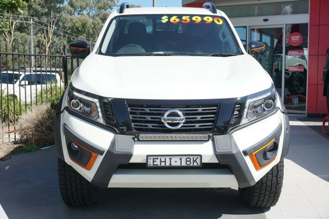 Used Nissan Navara D23 S4 MY19 N-TREK Warrior Phillip, 2019 Nissan Navara D23 S4 MY19 N-TREK Warrior White 7 Speed Sports Automatic Utility