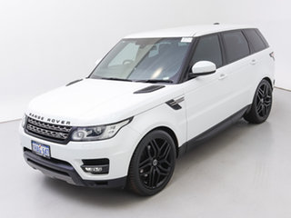 2013 Land Rover Range Rover LW Sport 3.0 TDV6 SE Fuji White 8 Speed Automatic Wagon