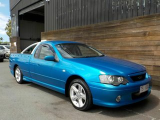 2004 Ford Falcon BA XR6 Ute Super Cab Blue 4 Speed Sports Automatic Utility.