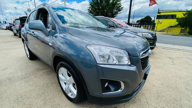 Used Holden Trax TJ MY14 LTZ Maidstone, 2013 Holden Trax TJ MY14 LTZ Grey 6 Speed Automatic Wagon