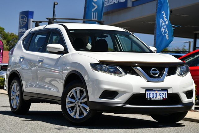 Used Nissan X-Trail T32 ST X-tronic 4WD Melville, 2014 Nissan X-Trail T32 ST X-tronic 4WD White 7 Speed Constant Variable Wagon