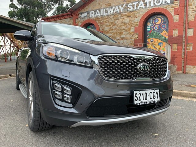 Used Kia Sorento UM MY17 GT-Line AWD Cheltenham, 2017 Kia Sorento UM MY17 GT-Line AWD Grey 6 Speed Sports Automatic Wagon