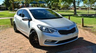 2013 Kia Cerato YD MY14 S Silver 6 Speed Manual Hatchback.