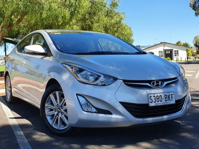 Used Hyundai Elantra MD3 SE Nailsworth, 2015 Hyundai Elantra MD3 SE Silver 6 Speed Sports Automatic Sedan