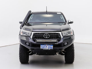 2020 Toyota Hilux GUN126R MY19 Upgrade SR5 (4x4) Black 6 Speed Automatic Double Cab Pick Up.