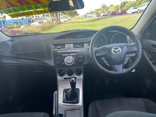 2009 Mazda 3 BK10F2 MY08 Neo Sport White 5 Speed Manual Hatchback