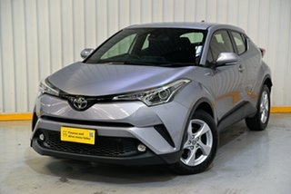 2019 Toyota C-HR NGX10R Update (2WD) Silver Continuous Variable Wagon.
