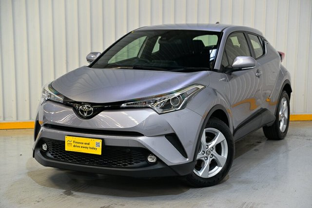Used Toyota C-HR NGX10R Update (2WD) Hendra, 2019 Toyota C-HR NGX10R Update (2WD) Silver Continuous Variable Wagon