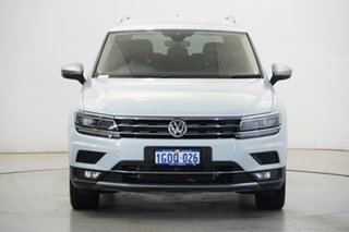 2018 Volkswagen Tiguan 5N MY18 140TDI Highline DSG 4MOTION Allspace White 7 Speed.