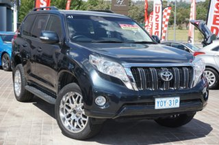 2016 Toyota Landcruiser Prado GDJ150R GXL Blue 6 Speed Sports Automatic Wagon.