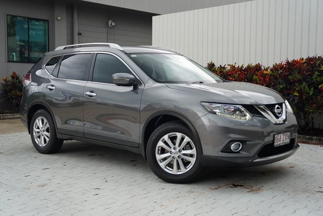 Used Nissan X-Trail T32 ST-L X-tronic 2WD Cairns, 2015 Nissan X-Trail T32 ST-L X-tronic 2WD Grey 7 Speed Constant Variable Wagon