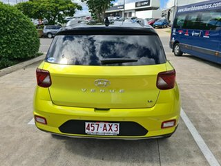 2020 Hyundai Venue QX MY20 Elite Yellow 6 Speed Automatic Wagon