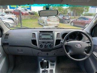 2007 Toyota Hilux KUN26R SR5 Silver 4 Speed Automatic Utility