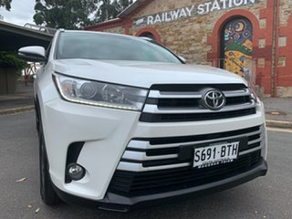 2017 Toyota Kluger GSU55R GXL AWD White 8 Speed Sports Automatic Wagon.