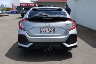 2017 Honda Civic 10th Gen MY17 RS Silver 1 Speed Constant Variable Hatchback