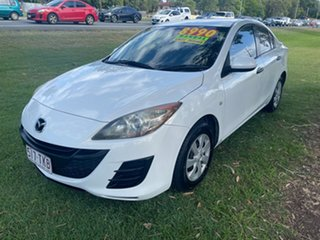 2009 Mazda 3 BK10F2 MY08 Neo Sport White 5 Speed Manual Hatchback.