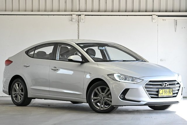 Used Hyundai Elantra AD MY17 Active Laverton North, 2016 Hyundai Elantra AD MY17 Active Silver 6 Speed Sports Automatic Sedan