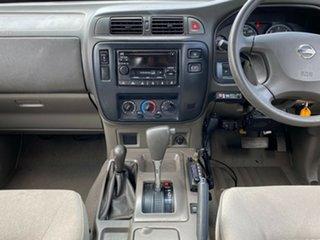 2002 Nissan Patrol GU III MY2002 ST White 4 Speed Automatic Wagon