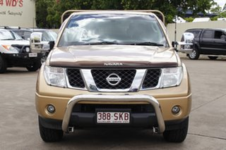 2008 Nissan Navara D40 ST-X King Cab Gold 5 Speed Automatic Cab Chassis