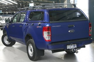2016 Ford Ranger PX MkII XL 2.2 Hi-Rider (4x2) Blue 6 Speed Automatic Crew Cab Pickup.